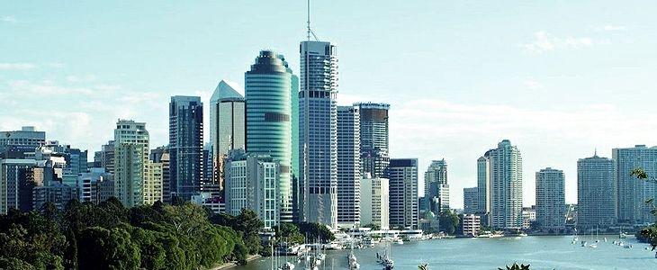 Brisbane city views across the river